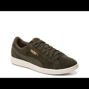 Pumi olive green Vicky tennis shoes